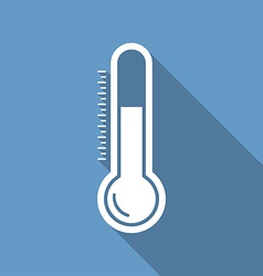 Thermometr icon vector image vector image