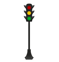 Traffic light 04 vector