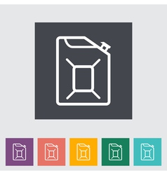 Gas containers vector