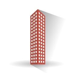 Building icon design vector