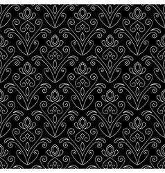 Abstract seamless hand drawn pattern vector