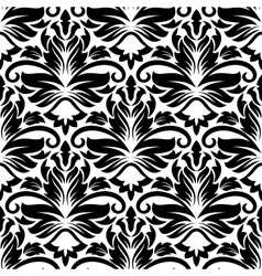 Dainty floral seamless pattern with diamond vector
