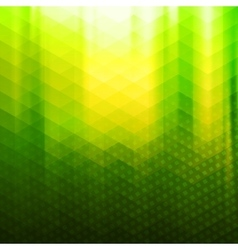 Green-yellow color polygonal background vector