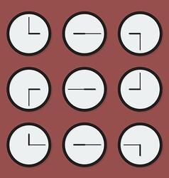 Minimal clocks vector