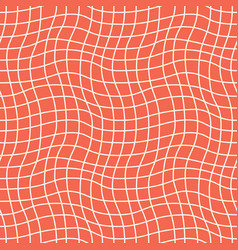 Seamless woven pattern simple vintage texture vector