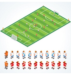 Soccer tactics kit vector