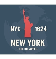 New york t-shirt apparel fashion design vintage vector