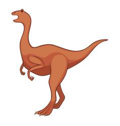 allosaurus icon cartoon style vector image
