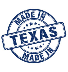 Made in texas vector