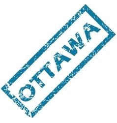 Ottawa rubber stamp vector