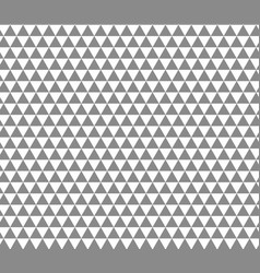 triangle seamless pattern grey and white color vector image
