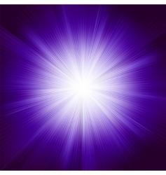 violet burst vector image