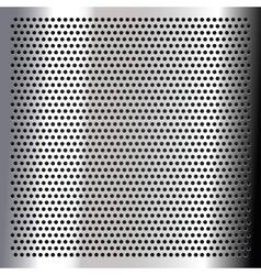 Chrome - sheet metallic vector