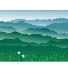 Mountains 3 vector