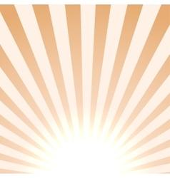 Bright sun background vector