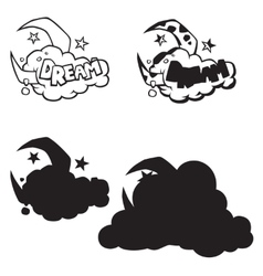 Comics icon vector