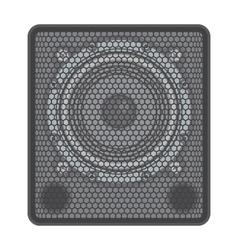 concert Subwoofer Speaker vector image