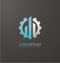 Construction logo design idea vector