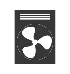 Fan machine design isolated ventilador icon vector image