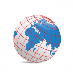 Geography world vector