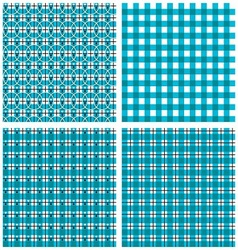 Geometric Plaid Pattern vector image vector image