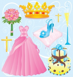 Quinceanera clip art vector