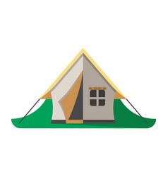 travel tent icon isolated vector image vector image