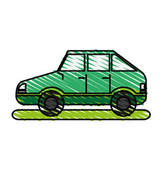 Means of transportation icon vector