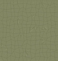 Abstract irregular rectangle mosaic background vector image vector image