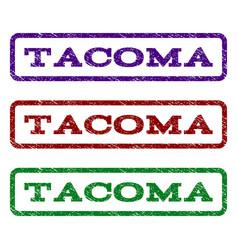 Tacoma watermark stamp vector