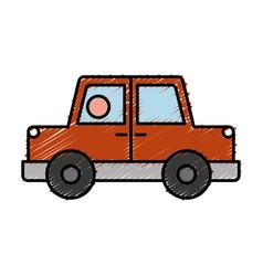 Car vehicle icon vector