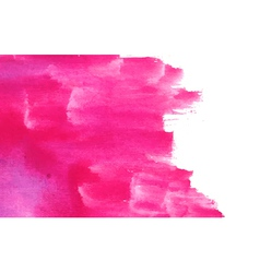 Pink paint background vector