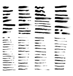 Big collection of grunge brushes vector