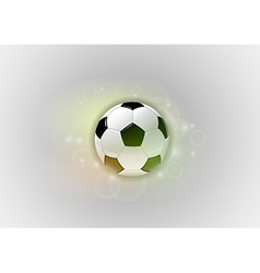 football abstract ball vector image