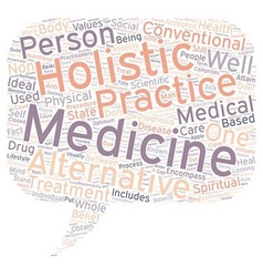Holistic medicine as compared with other medical vector