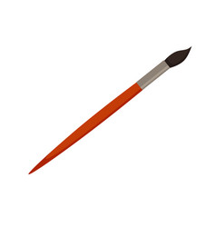 Paint brush icon colorful vector
