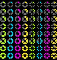 Progress symbols vector