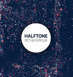 halftone dots background 2010 vector image