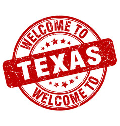 Welcome to texas vector