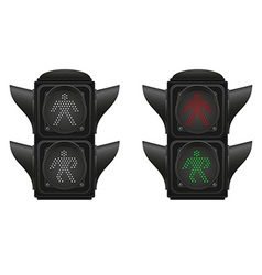 Traffic light 06 vector