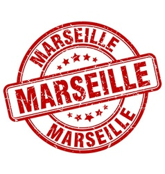 Marseille stamp vector