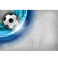 football background blue vector image vector image