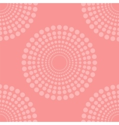 Pink halftone background vector