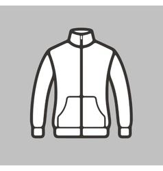 Sport jacket icon vector image vector image