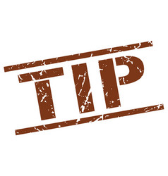 Tip stamp vector