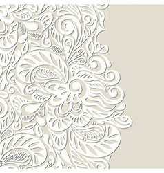 Vintage seamless wallpaper background vector image