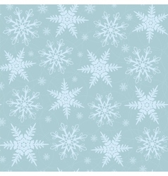 Winter christmas seamless background vector image