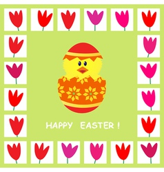 Easter card 4 vector