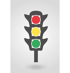 Traffic light 07 vector