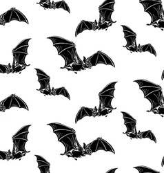 Bat pattern2 vector